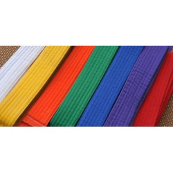 Martial Arts Color Belts